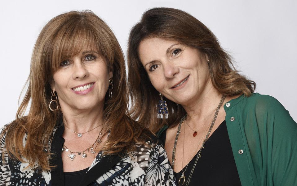 Theresa Bartolo Parnis and Jackie Scudamore Urpani